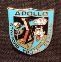 NASA Apollo 10 Mission Lapel Pin